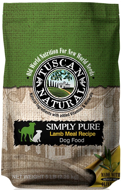 Tuscan Natural Lamb And Rice Dog Food